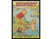 3 Rupert Bear annuals