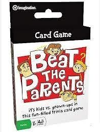 BEAT THE PARENTS CARD GAME - FAMILY TRAVEL TRIVIA QUIZ