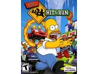 Looking for simpsons hit and run for ps2