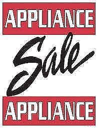 """Used Appliance  """"SALE""""  Dependable Edmonton Area Dealer since 1981 and the BEST POSSIBLE PRICES!  at  9267-50 Sreet"""