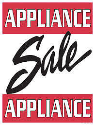 "OVERSTOCKED USED APPLIANCE ""SALE"" @ 9267- 50 St Edmonton"