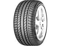 4 x Continental Sport Contact - 245/45/R18 96Y Runflats