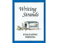 Writing Strands Level 3, 4, 5 and Evaluating Writing Text Books (4 Books) English