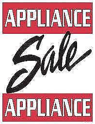 -   Used Appliance Sale!  -  Fridges Fully Reconditioned  -  with Warranty