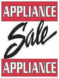 "This SATURDAY 10am to 3pm  _ USED APPLIANCE ""SALE"" at 9267 - 50 St Edmonton"