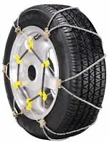 TIRE CHAINS Will fit most standard tires SEE TIRE CHART PICTURE