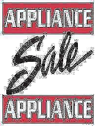 "- USED APPLIANCE Clear-out ""SALE"" at 9267-50 ST - STOVES - WASHERS - DRYERS - FRIDGES - DISHWASHERS"