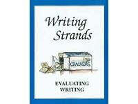 Writing Strands Level 3, 4, 5 and Evaluating Writing Text Books (4 Books)