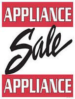 "Used Appliance Clearout ""SALE"" > 9267 - 50 St >"