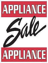SATURDAY 10am to 3pm - - - Stove  SALE  $220 to $425 - With WARRANTY - - -  USED APPLIANCE SALE  @  9267 -50 Street