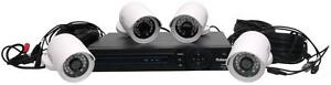 New - COMPLETE NIGHT VISION VIDEO SECURITY SYSTEM WITH CAMERAS, DVR AND CABLES READY TO GUARD YOUR PROPERTY!
