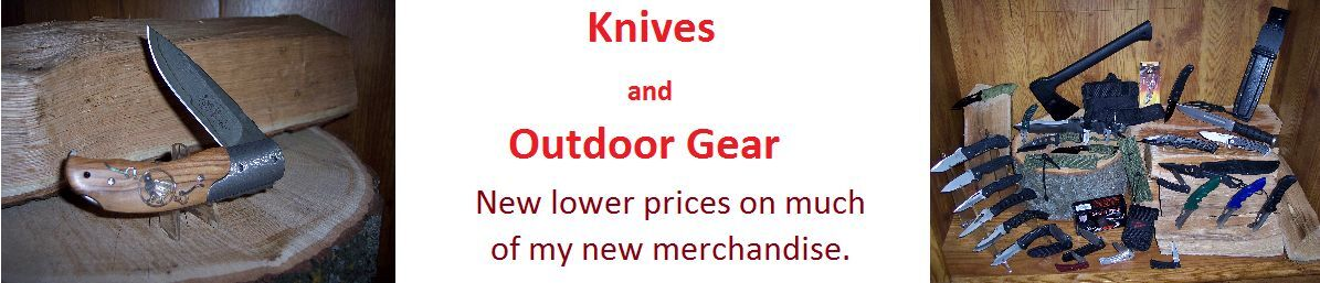 Knives and Outdoor Gear
