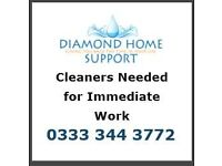 Cleaners needed- earn extra cash