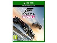 Forza Horizon 3 xbox one (Hardly used)