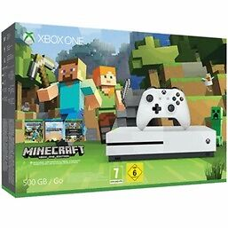 Act fast! Brand new, sealed Xbox One S with Minecraft and favorites bundle.