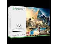Xbox one s 500gb - Assassins Creed Bundle