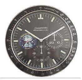 Omega Wall Clocks - Speedmaster, constellation, seamaster models