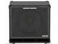GENZ BENZ BASS CAB focus lite 1x15 with tweeter