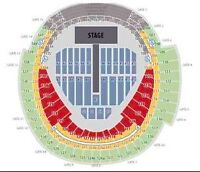 ONE DIRECTION AUGUST 20TH 2 TICKETS