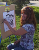 Caricatures Artist - Parties | Special Events | Commissions