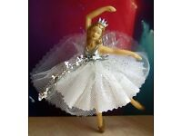 WANTED - Old Fashioned Christmas Tree Fairy / Ballerina And Glass Christmas Tree Baubles.