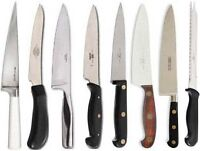 Knife and other food prep utensil sharpening
