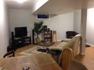 Available May 1 - Two bedroom basement suite