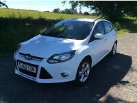 Ford Focus 2012 1.6 Zetec, LOW MILEAGE