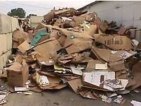 Waste cardboard collection service