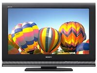 """Sony 32"""" inch HD LCD TV with Freeview Built in, 2 x HDMI not 26 37 39 May Deliver Locally"""
