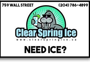 Wholesale ice available on sale $6 for 26lbs!
