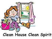 Wanted job cleaning houses £10.00 x hour