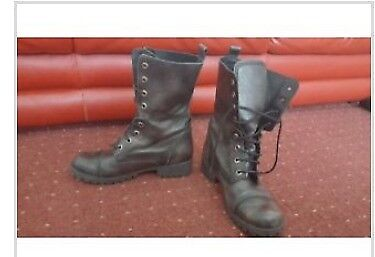 Dune woman's style army boots