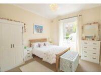 **White/Cream, Solid Wood, Bedroom Furniture x 2 (£150 & £175). 2 Double Beds/Mattresses (£100 Each)