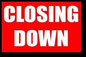 SHOP CLOSING DOWN SALE - Shop Fittings Sale!! East Victoria Park Victoria Park Area Preview