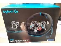 Logitech G29 Driving Force Racing Wheel and Pedals (PS3/PS4/PC)