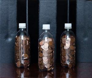 REDUCED: 4 lb. jugs of Canadian pennies $16.95 per jug
