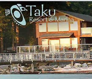 Taku Resort, Quadra Island BC: Cabin rentals, shoreline hiking,