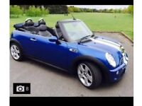 Mini Cooper 1.6 S Convertible, Superb Condition (blue)
