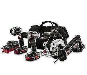 Craftsman power tool set ebay for Who makes power craft tools