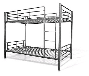 Collapsible bunk bed! Frame only