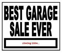 HUGE Garage Sale on July 30 and 31 120 Ball Cove SW Southbrook