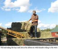 HELP WANTED  $15 per Hour Unloading Hay