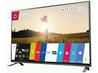 "LG 49"" Slim LED FULL HD SMART TV WITH webOS BUILT IN WiFi FREEVIEW HD, NEW CONDITION FULLY WORKING"