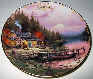 Thomas Kinkade Calendar Plates & Thomas Kinkade Plates | eBay