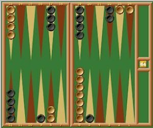 Wanted Backgammon Game