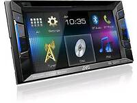 JVC Double Din Stereo Bluetooth