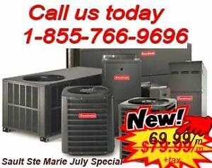 HIGH EFFICIENCY FURNACE AND AIR CONDITIONER. FREE INSTALL. 24/7 SERVICE. ANY CREDIT APPROVED. CALL US 1-855-766-9696