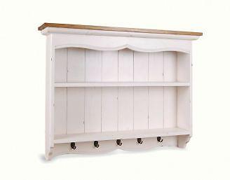 add wall racks fro open storage