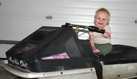 Wanting to purchase Artic cat  kitty cat kids snowmobile 4 parts